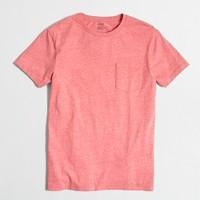 Tall slim washed pocket T-shirt