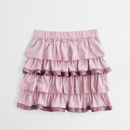 Factory girls' g�teau skirt
