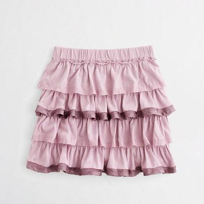 Factory girls' gâteau skirt
