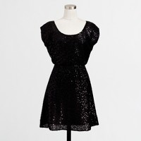 Factory sequin party dress