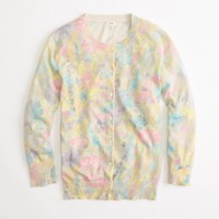 Factory spring floral cardigan