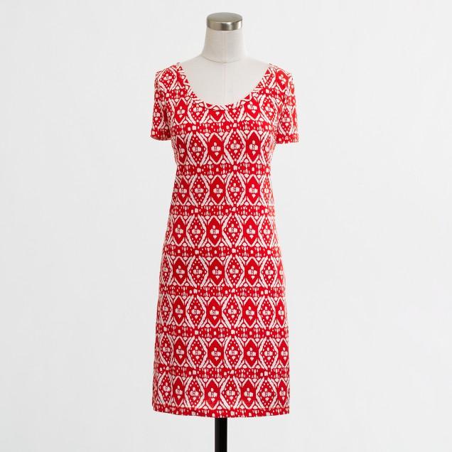 Factory ikat beach dress