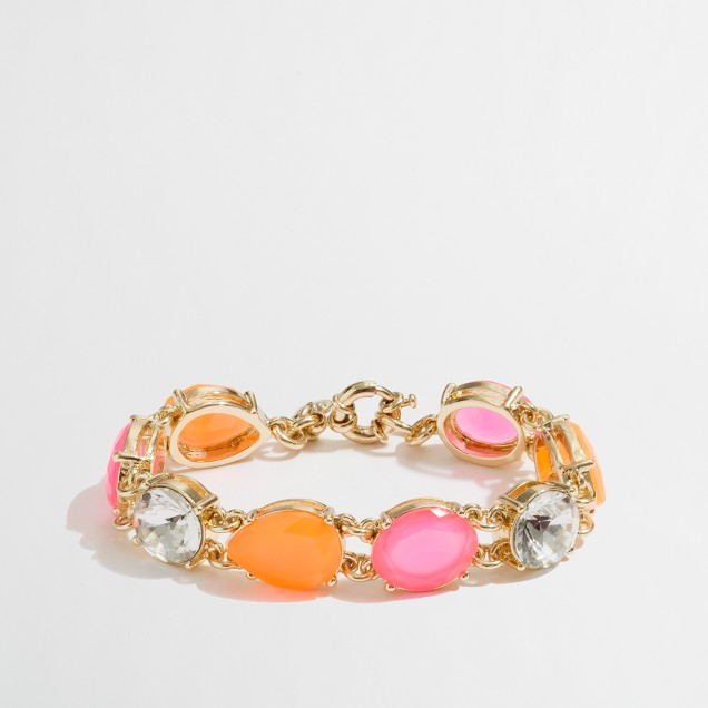 Factory neon beaded bracelet
