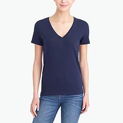 Tissue V-neck T-shirt