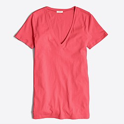 Tissue V-neck T-shirt