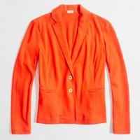 Factory knit pocket blazer