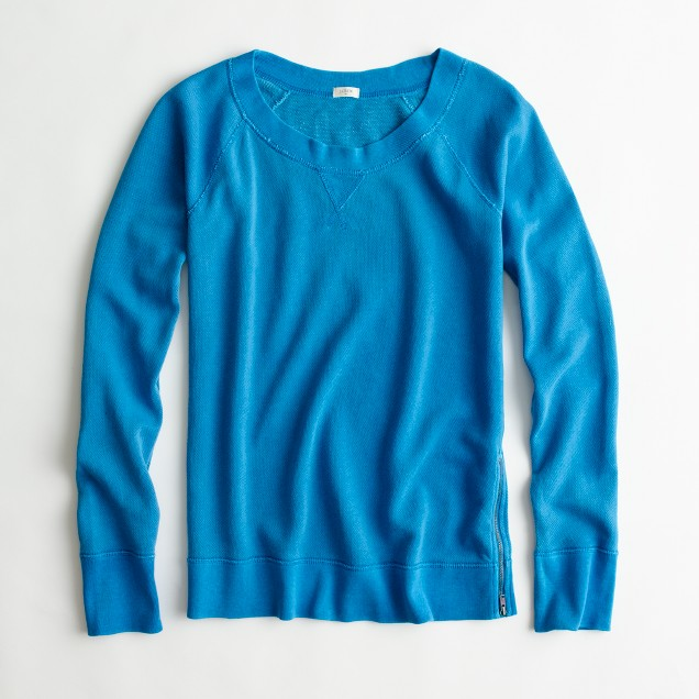 Factory garment-dyed popover