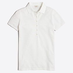 Factory piqué polo shirt