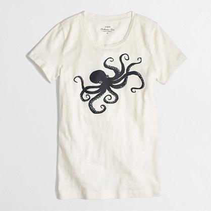 Factory octopus collector tee