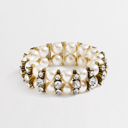 Factory stretch crystal pinball bracelet