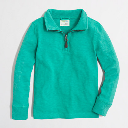 Boys' half-zip pullover