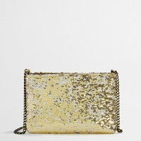 Factory sequin evening bag