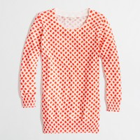 Factory Charley sweater in apple