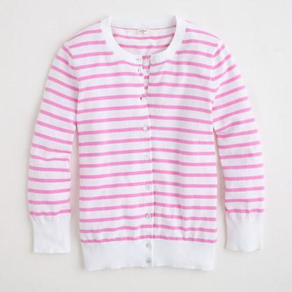 Factory Clare cardigan in stripe