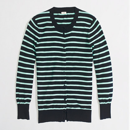 Factory Clare cardigan in stripe