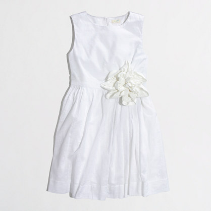 Factory girls' corsage party dress