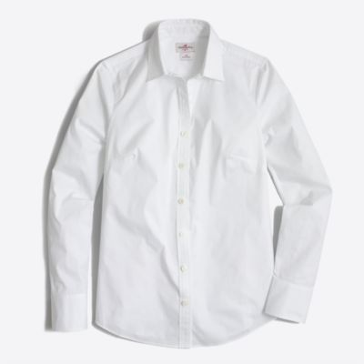 Stretch classic button-down shirt