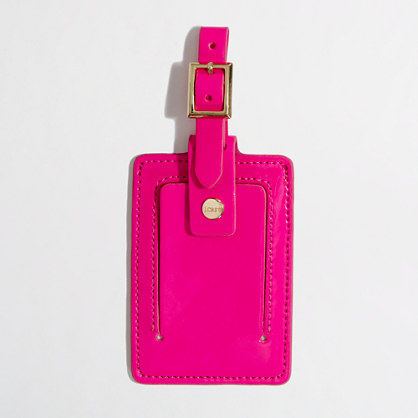 Factory classic luggage tag