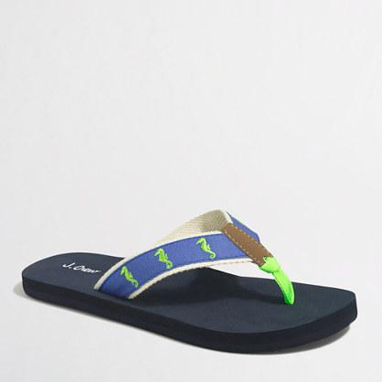 Factory critter flip-flops