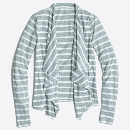 Always cardigan in stripe