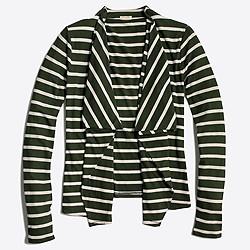 Always cardigan in stripe