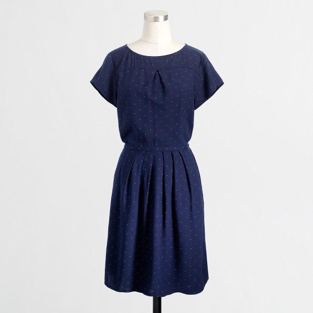 Factory stripe pocket dress