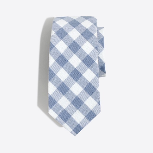 Boys' patterned washed tie