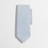 Boys' seersucker tie
