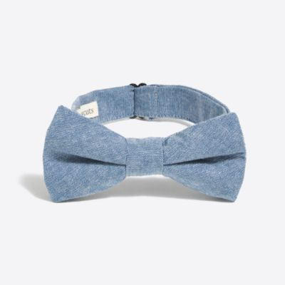 Boys' chambray bow tie factoryboys thompson suits c