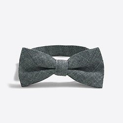 Boys' chambray bow tie