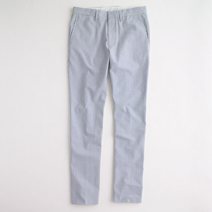 Factory Thompson suit pant in seersucker
