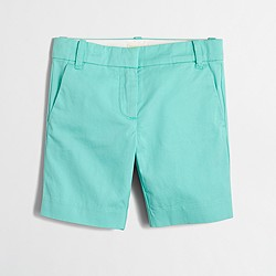 Factory girls' bermuda short