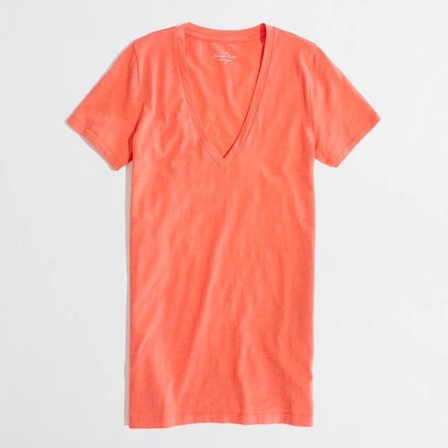Layering V-neck T-shirt