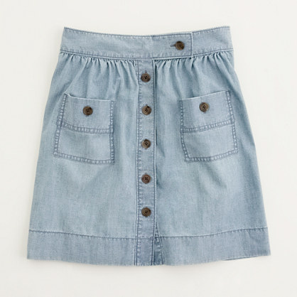 Factory chambray Dorrie skirt