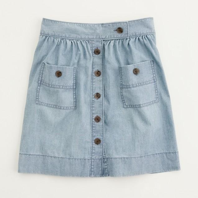 Factory chambray Dorrie skirt