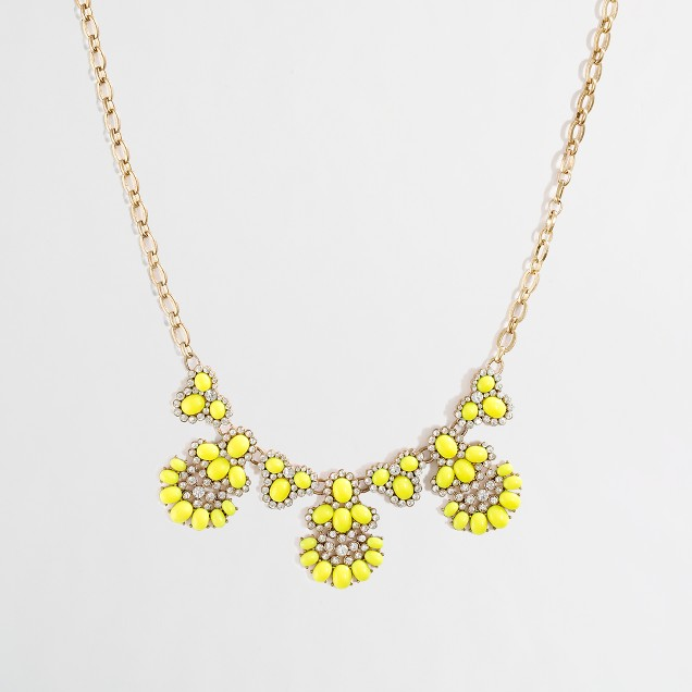 Factory chandelier necklace