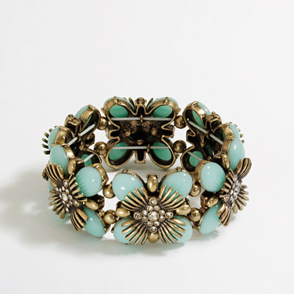 Factory stretch flower bracelet