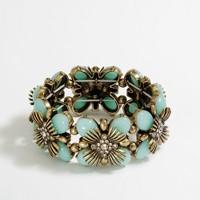 Factory stretch flower bracelet