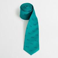 Factory silk whale tie