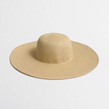Classic straw hat