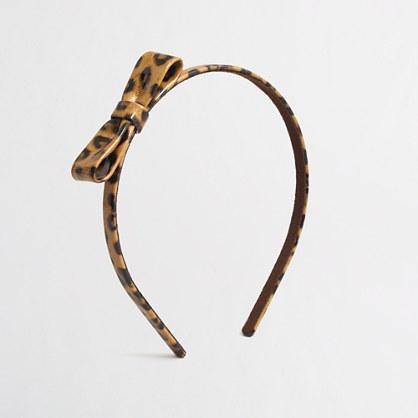 Factory girls' bow headband