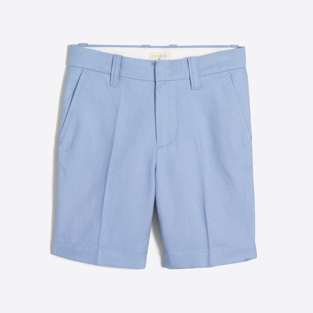 Boys' Gramercy short in oxford