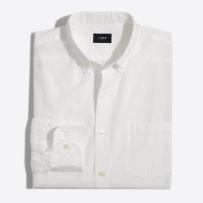 Tall washed white shirt factorymen tall c