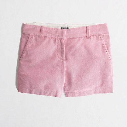 "Factory 5"" oxford chino short"