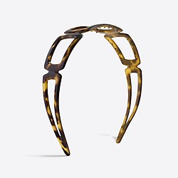 Cutout tortoise headband