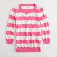 Factory Thandie sweater in rugby stripe