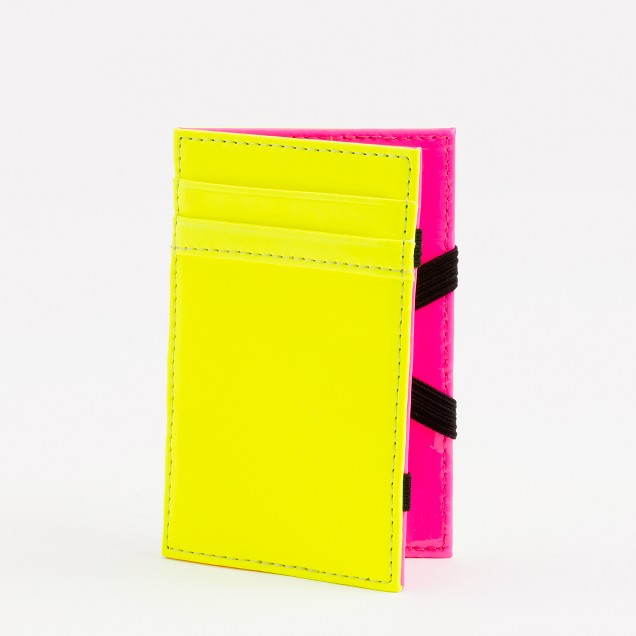 Factory two-tone patent wallet