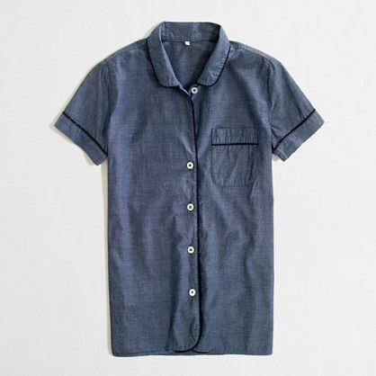 Factory cotton sleep shirt