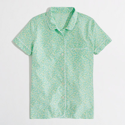 Factory floral cotton sleep shirt