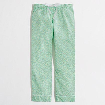 Factory floral cotton sleep pant